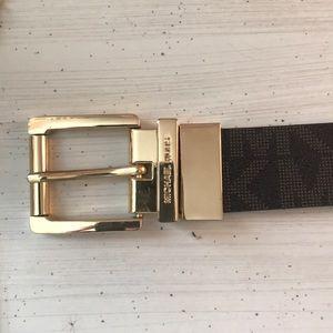 Authentic Michael kors size small belt